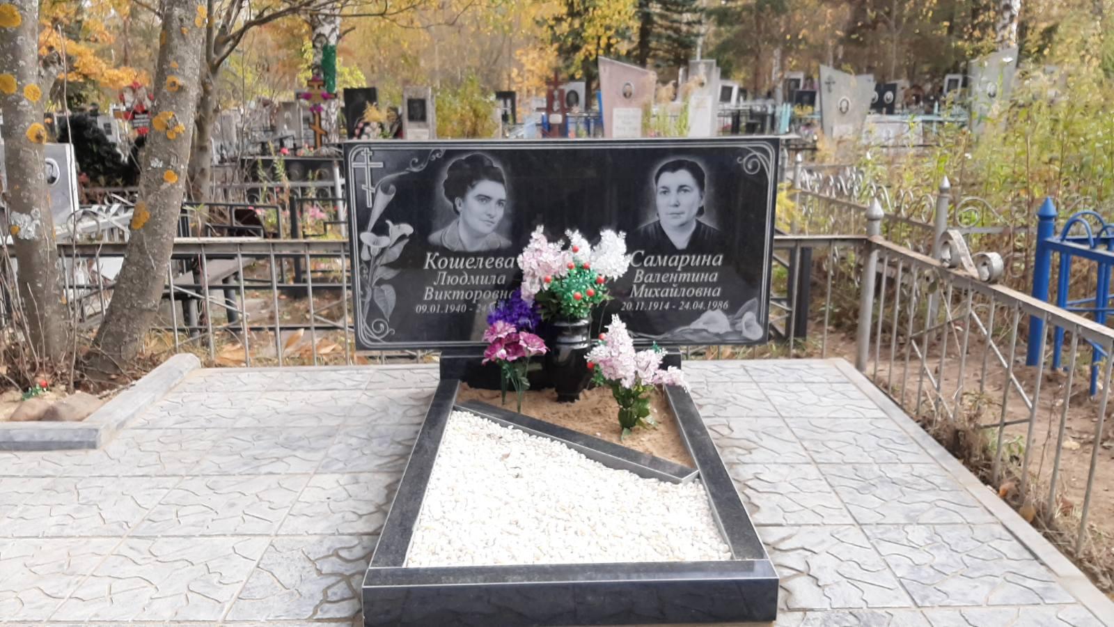 фото памятника из гранита